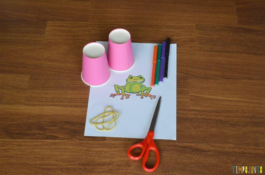 Interação total com as brincadeiras quando se tem entre 3 e 5 anos - foto materiais