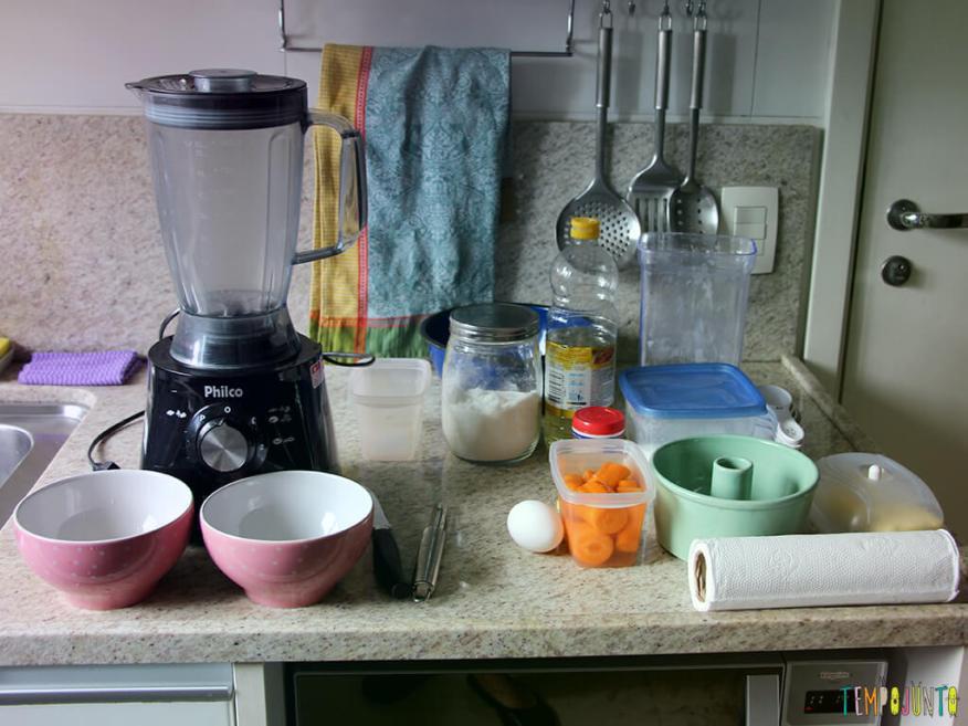 Bolo de Cenoura no Tempojunto na Cozinha_7903_Ingredientes