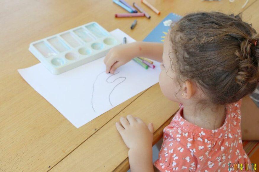 Como fazer desenho com as mãos - gabi desenhando