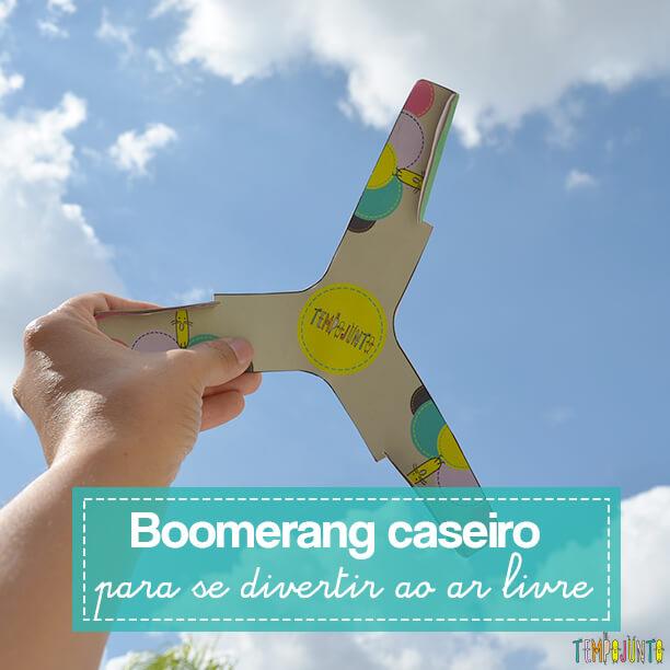 Um brinquedo caseiro para curtir o ar livre com as crianças e estimular a coordenação