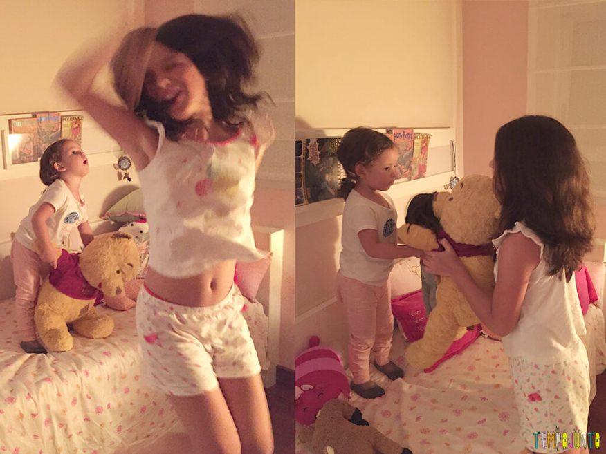 Uma festa do pijama para ninguém botar defeito - balada das meninas