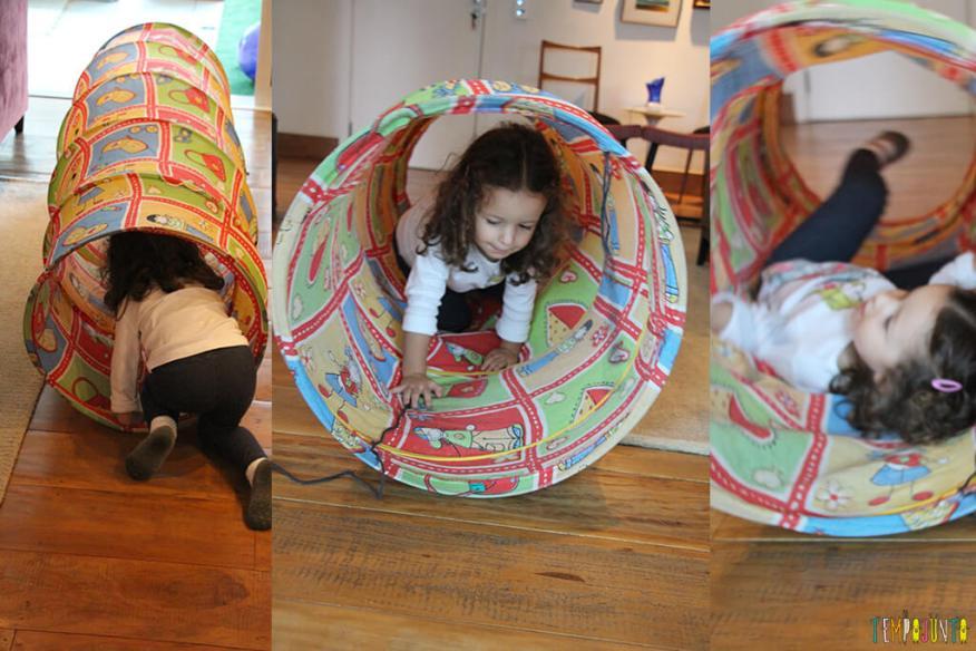 Circuito de atividades para crianças de todas as idades - gabi no tunel
