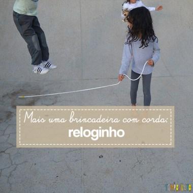 Brincadeira de corda rapidinha para fazer ao ar livre com as crianças
