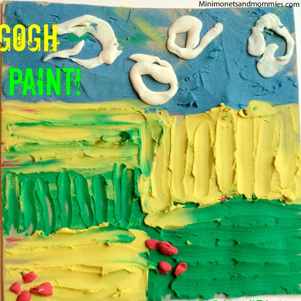 10 atividades inspiradas nos grandes mestres da Arte - van gogh