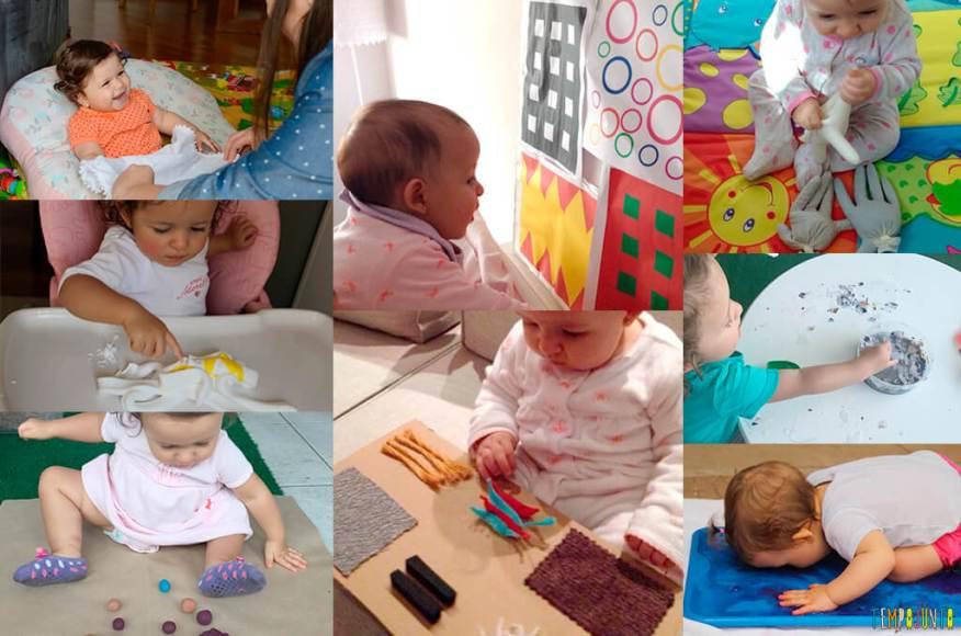 E-book Atividades Sensoriais para estimular seu bebê - pout pourri 2