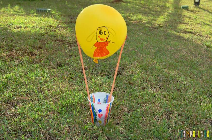 Balão copo descartavel - opção brinquedo pronto 2