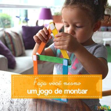Como fazer um brinquedo com palito de picolé