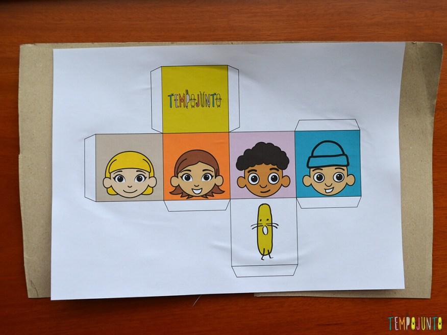 Brinquedo caseiro que provoca o raciocínio dos bebês_printable_dado colado no papel cartão