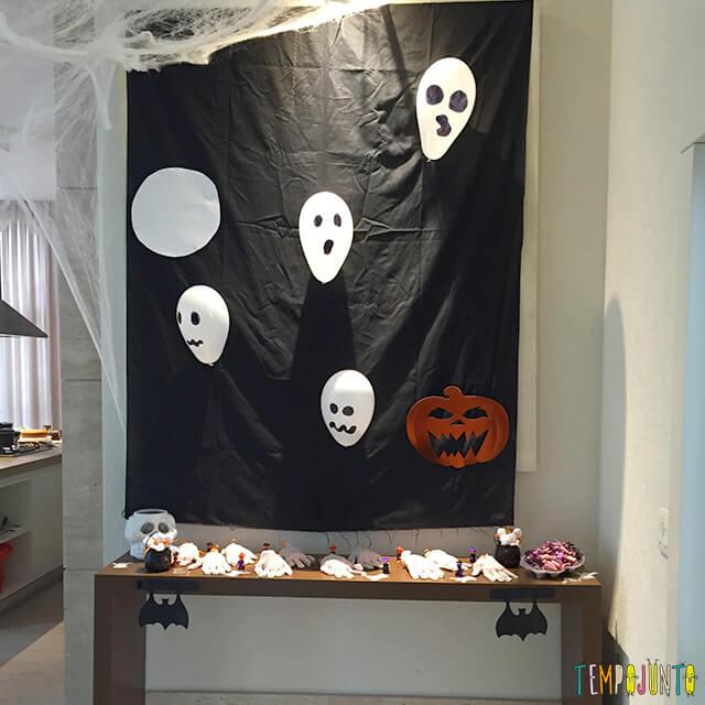 Como decorar uma festa de Halloween -mesa pronta