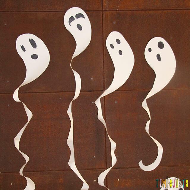 Como decorar uma festa de Halloween - parte 2 - fantasma