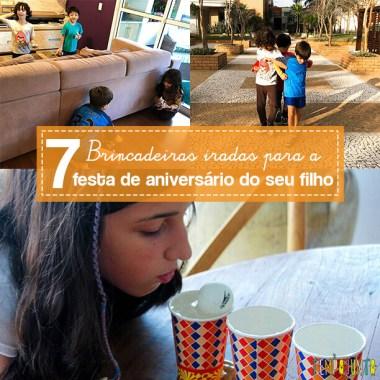 7 brincadeiras para festa de aniversário do seu filho que vão arrasar!