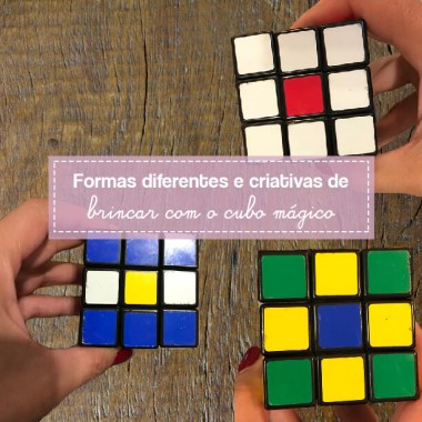 Jogo de Bandeiras é um jeito diferente de raciocínio com cubo mágico