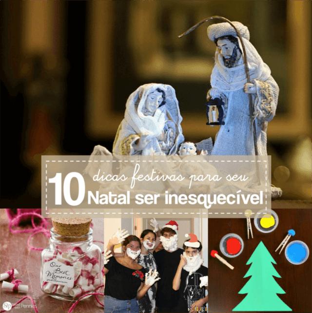 10 dicas para um Natal incrível
