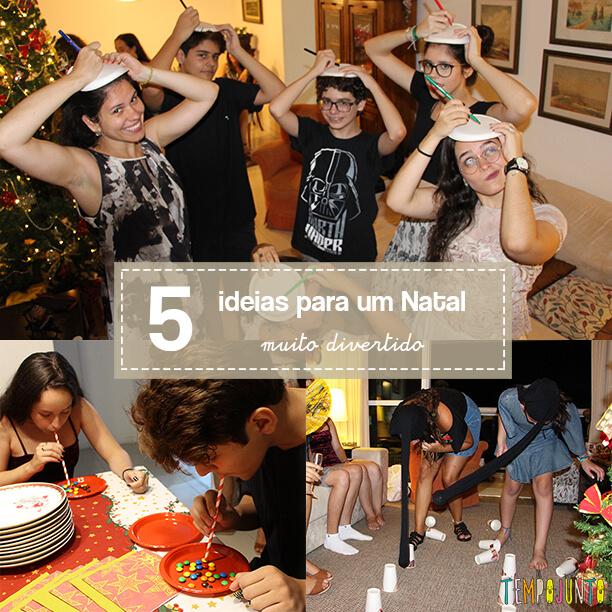 Brincadeiras para o Natal – 5 ideias muito divertidas