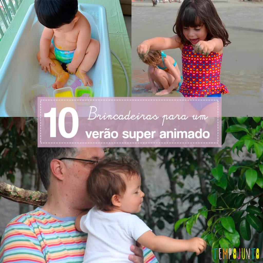 10 atividades animadas de verão para seus filhos