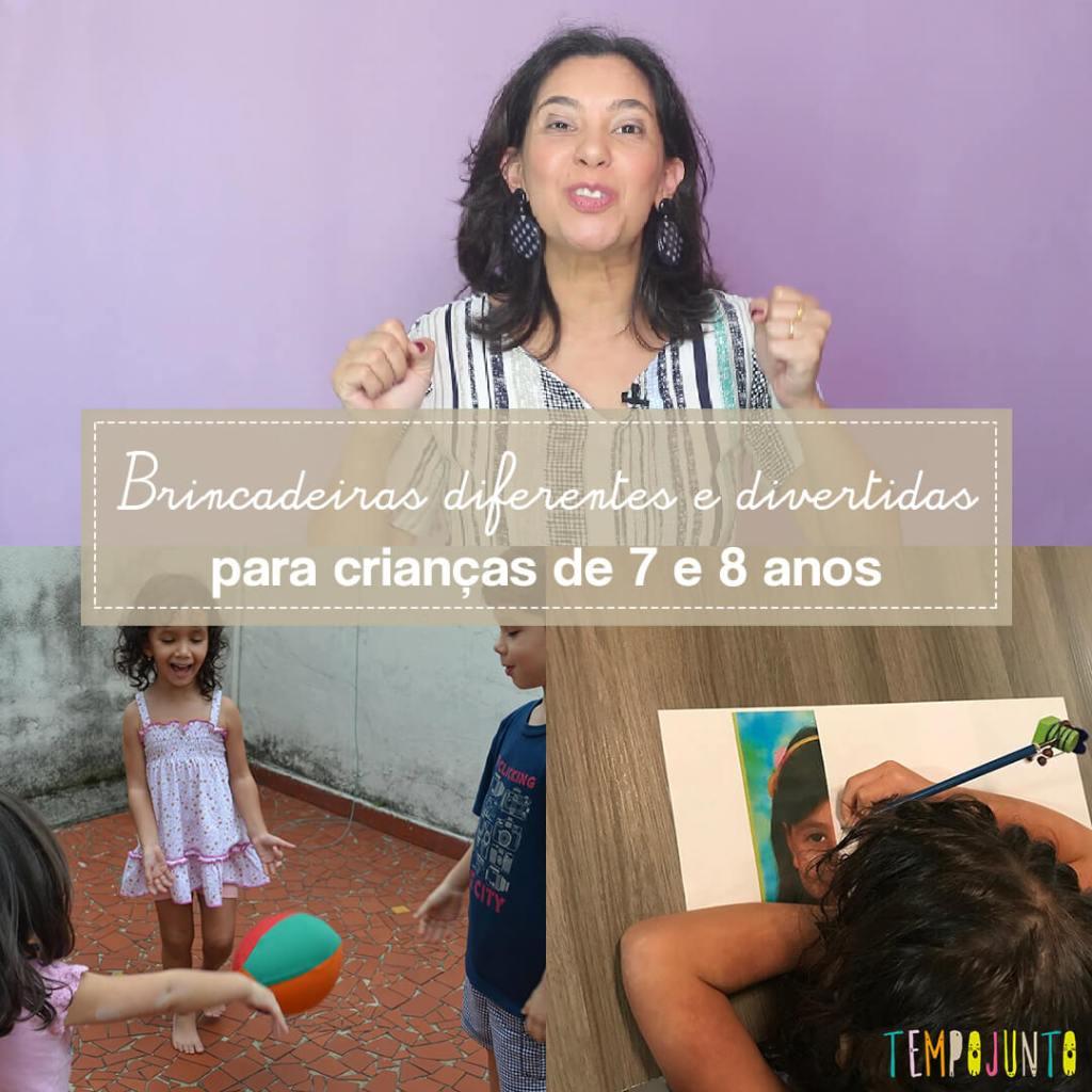 10 top brincadeiras para crianças de 7 a 8 anos