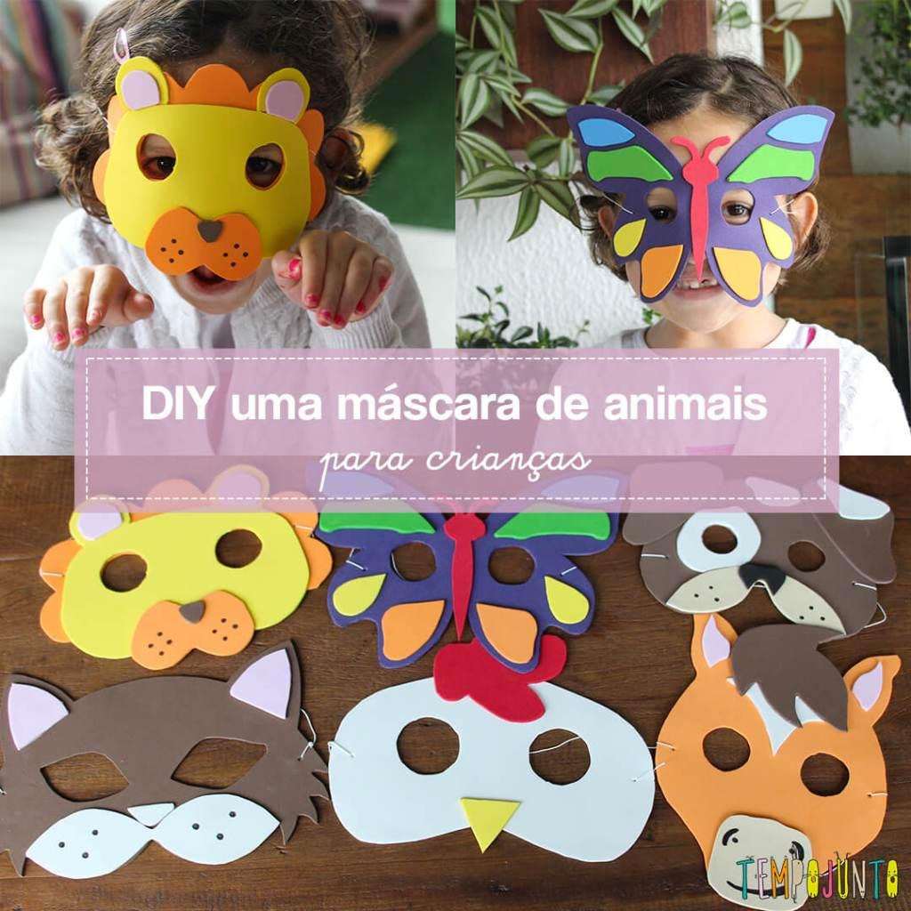 Como fazer máscaras de EVA de animais