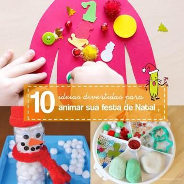 10 brincadeiras de Natal para confraternização em família