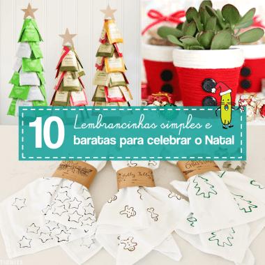 10 lembrancinhas de Natal fáceis de fazer
