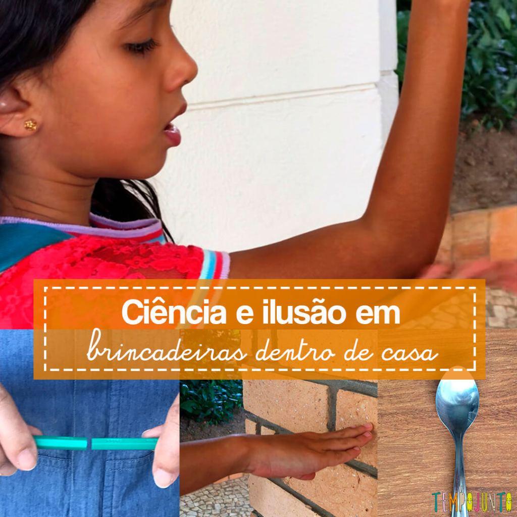 3 Brincadeiras de ciência e ilusionismo para fazer em casa com os filhos