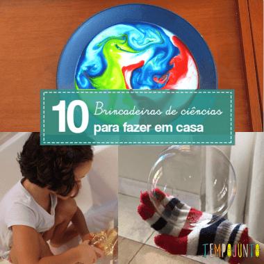 10 brincadeiras de ciências que deixarão seu filho entretido por mais tempo