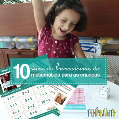 10 atividades para aprender matemática brincando