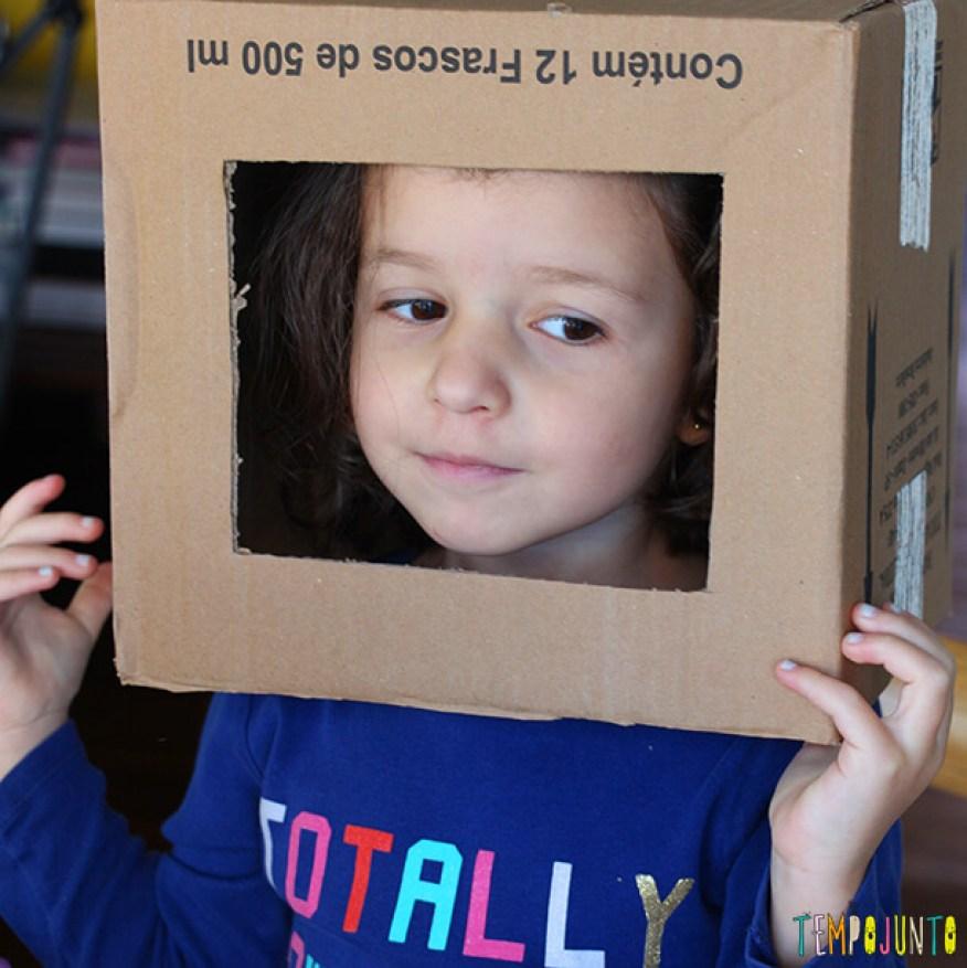 materiais não estruturados_caixa de papelão