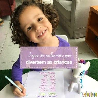 Brincadeiras para estimular a linguagem: Jogos Verbais