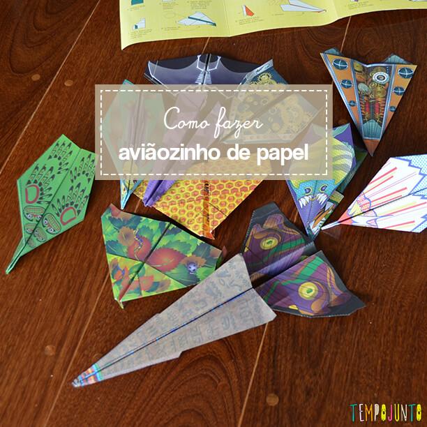 Como fazer tipos diferentes de aviãozinho de papel perfeitos para voar