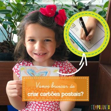 Brincadeiras de escrever que estimulam habilidades sociais