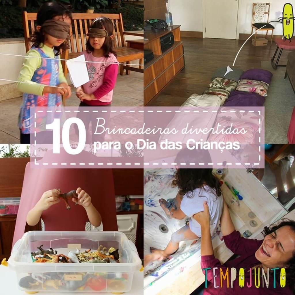 Top 10 brincadeiras para o Dia das Crianças