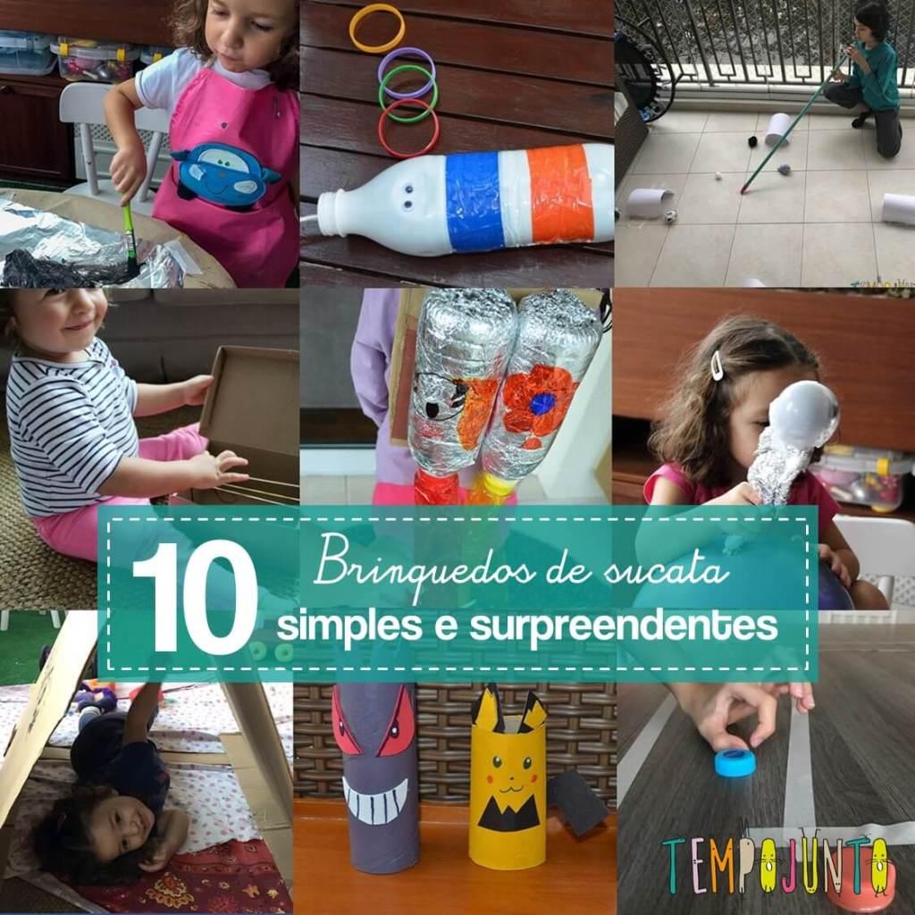 10 ideias de como fazer brinquedos reciclados