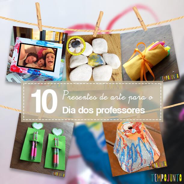 10 dicas de presentes de arte feitos pelo seu filho para o Dia dos Professores