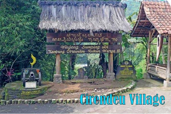 Cirendeu Village With Sublime Cultural Values