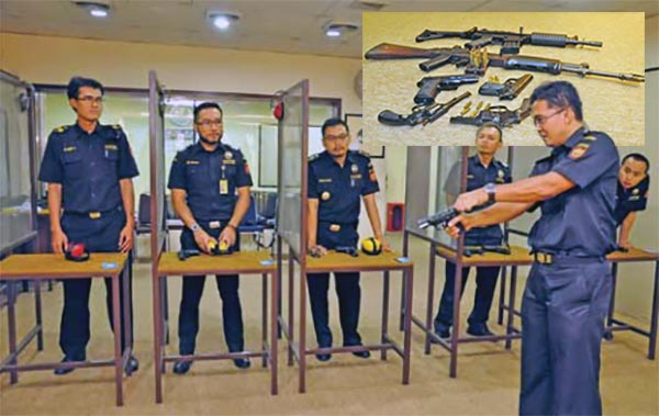 The Official Firearms of Indonesian Customs Officers