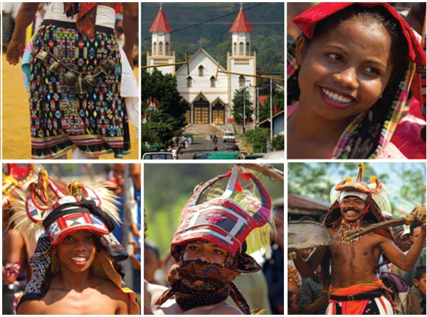 caci – the whip dancing duel of western Flores