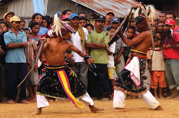 Caci, Spectacular Dances of the Manggarai Western Flores
