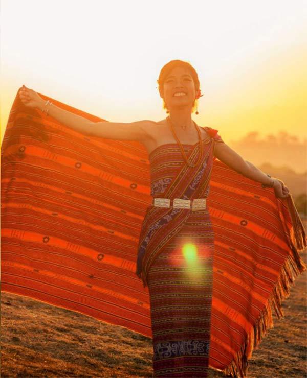 Girl of Fehan Fulan Festival