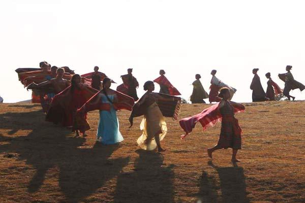 Fehan Fulan Festival dancing