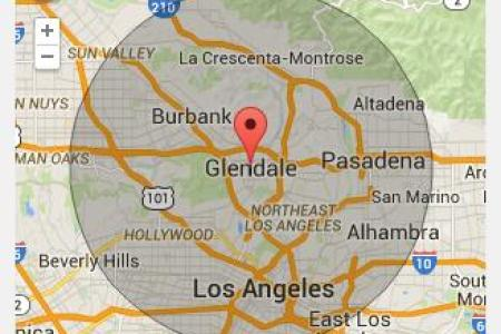 glendale california map » Another Maps [Get Maps on HD] | Full HD ...