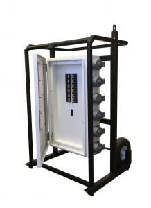 Generator Mobile Power Distribution Panel
