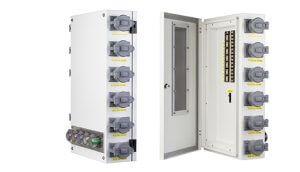 Generator Mobile Power Distribution Panel Hanger
