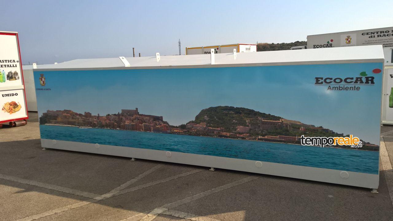 Gaeta - Isola Ecologica su strada
