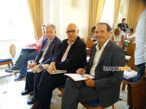 I sindaci di Gaeta, Formia e Ventotene