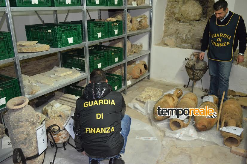 terracina sequestro anfore