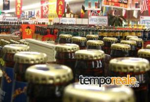 bottiglie birra negozio