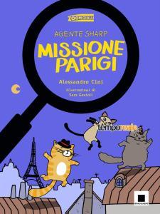 copertina Agente Sharp Missione Parigi