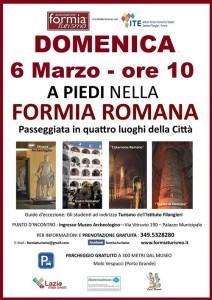 formia romana evento