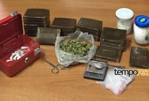 droga sequestrata dai carabinieri scauri