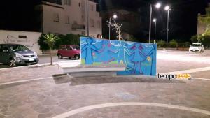 murales piazza wojtyla scauri 2